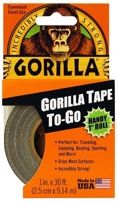 "Gorilla Glue Duct Tape, 1"" x 10 yd., Black"