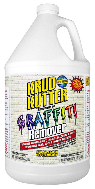 Krud Kutter Graffiti Remover, 1 Gal.