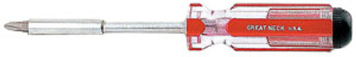 Great Neck 5-in-1 Magnetic Reversible Blade Screwdriver