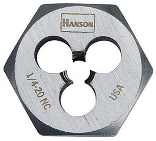 "Hanson Hexagon Dies - 1"" Across Flats, 1/4-21"