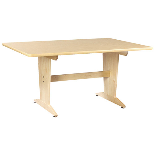 "Diversified Woodcrafts Planning Table 1-3/4"" Solid Maple Top, 60""W x 42""D x 30""H"