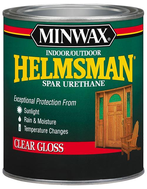 Minwax Helmsman Spar Urethane, Gloss, Qt.