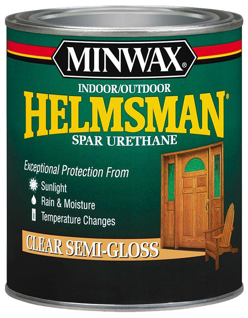 Minwax Helmsman Spar Urethane, Semi-Gloss, Qt.