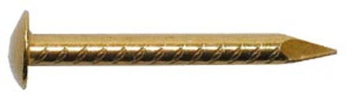 "Hillman Brass-plated Escutcheon Pins, 18, 1"""