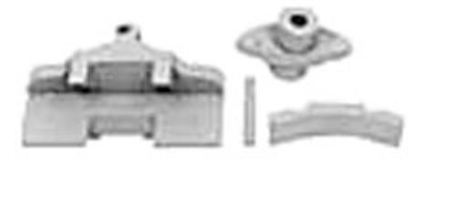 Hossfeld Universal Bender Model No. 2 Outward Bend Angle Iron Attachments