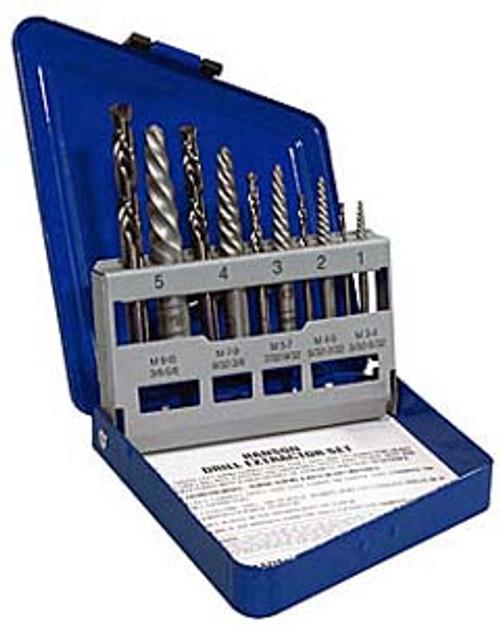 Irwin Spiral Screw Extractors,10-Piece Set