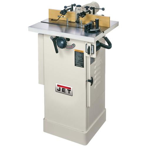 "JET JWS-22CS 1-1/2 HP Shaper, 1Ph 115/230V, 1/2"" and 3/4"" Spindle"