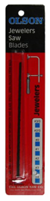 "Olson Jeweler's Saw Blades, 5"", 61 TPI"