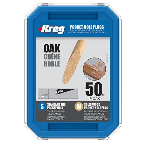 Kreg Pocket Hole Plugs, Oak Plugs
