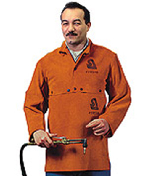 Steiner Leather Cape Sleeves w/Bib, Large