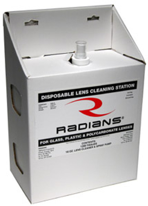 Radians Disposable Lens Cleaning Station