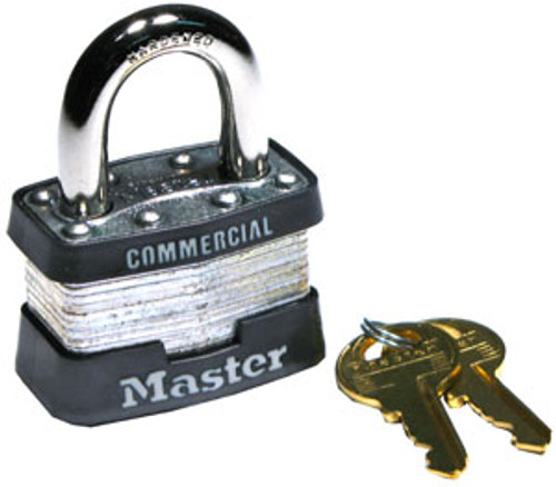 Master Lock Laminated Padlock No. 1 Master Keyed