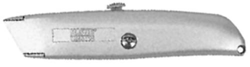 "Master Mechanic Zinc Pro Retractable Utility Knife, 6""L"