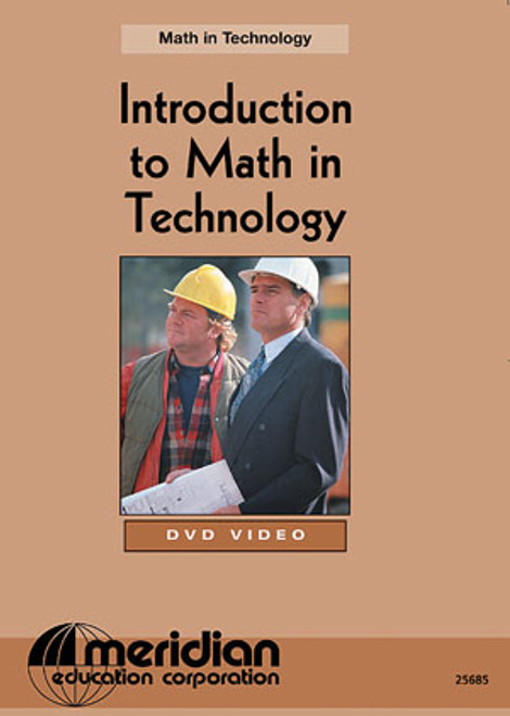 Meridian Math in Technology DVD, Introduction to Math Technology