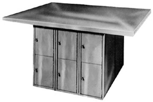 Montisa Learning Metalworking Bench with 12 Lockers