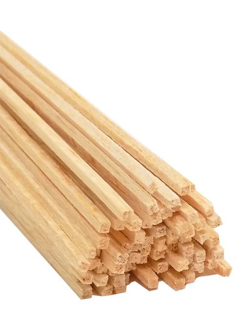 "Bud Nosen Balsa Wood Strips, 1/16"" x 1/16"" x 36"", 60/pkg."