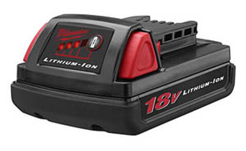 Milwaukee M18 Battery Pack, 18V Compact Lithium-ion