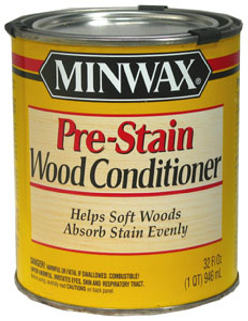 Minwax Pre-Stain Wood Conditioner, 1 Qt.