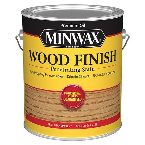 Minwax Wood Finish Wood Stain, Golden Oak, Gal.