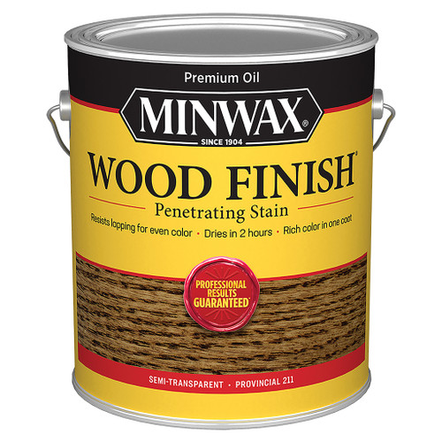 Minwax Wood Finish Wood Stain, Provincial, Gal.