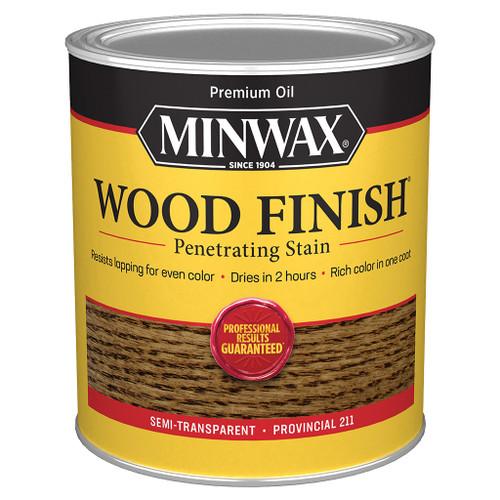 Minwax Wood Finish Wood Stain, Provincial, Qt.