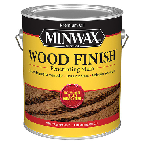 Minwax Wood Finish Wood Stain, Red Mahogany, Gal.