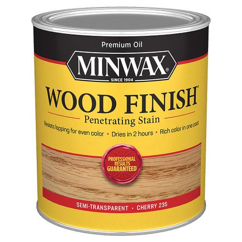 Minwax Wood Finish Wood Stain, Cherry, Qt.
