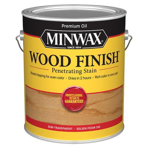 Minwax Wood Finish Wood Stain, Golden Pecan, Gal.