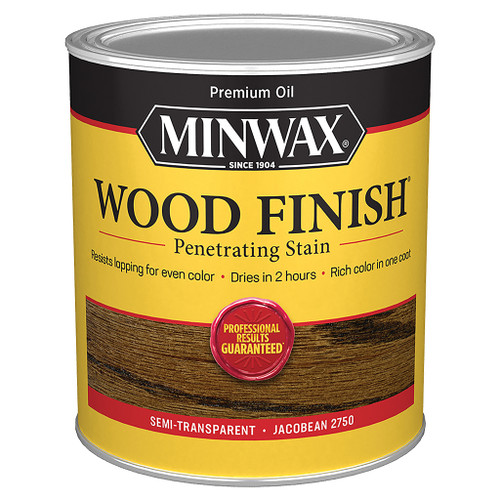 Minwax Wood Finish Wood Stain, Jacobean, Qt.