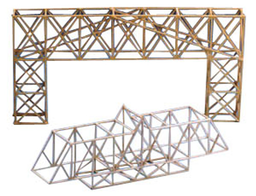 Midwest Products Model Bridge Design Class Pack of 24, Balsa Wood