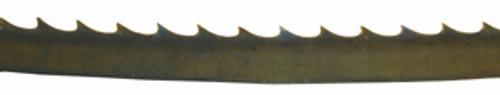 "Morse Wood-cutting Band Saw Blade, 139"" (11'7"") x 1/4"" x 4T"