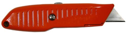 Lutz No. 82 Retractable Utility Knife, Orange