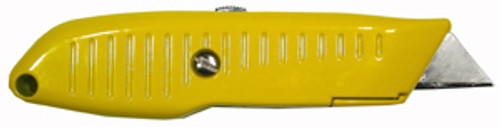 Lutz No. 82 Retractable Utility Knife, Yellow