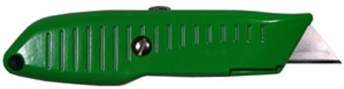 Lutz No. 82 Retractable Utility Knife, Green