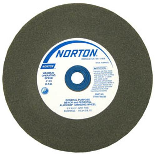 "Norton Abrasive Wheels 6"" x 3/4"", Medium"