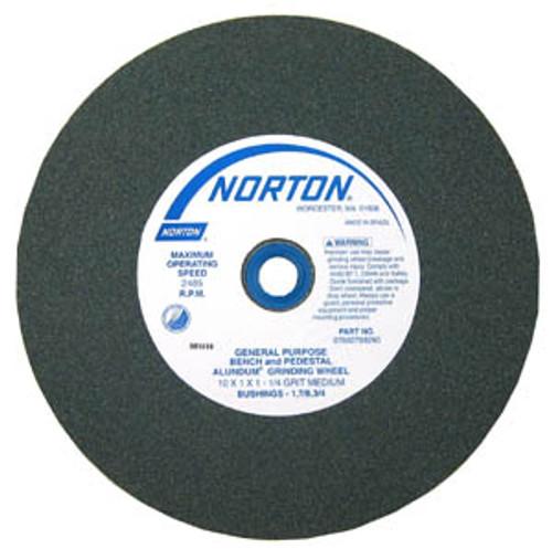 "Norton Abrasive Wheels 10"" x 1"", Medium"