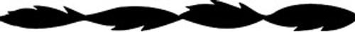 """Olson Spiral Scroll Saw Blades, Plain End, 5"""" x .032""""W 46 TPI"""