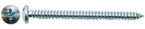 "Hillman Pan Head Sheet Metal Screws Pan Head Combination, 8, 1/2"""