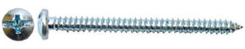 "Hillman Pan Head Sheet Metal Screws Pan Head Combination, 12, 3/4"""