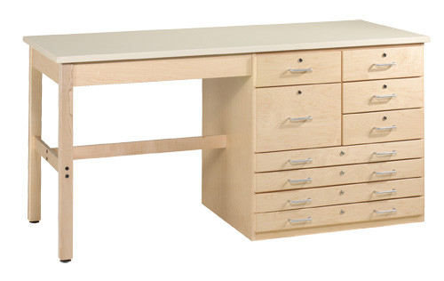 Diversified Woodcrafts Planning and Layout Bench