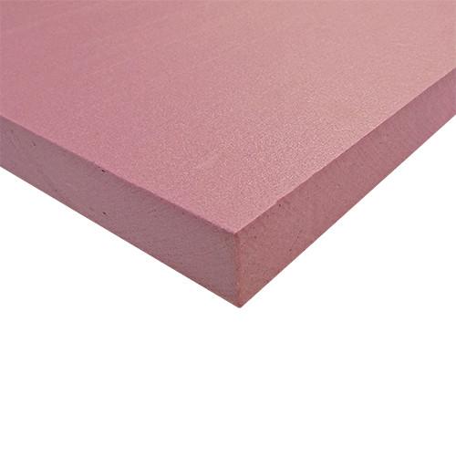"ABS Polystyrene Sheet, 11-1/2"" x 23-1/2"" x 1"""