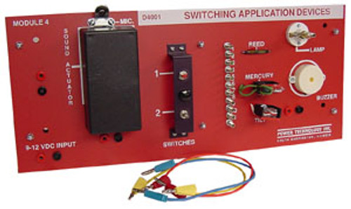 Midwest Practical Electricity & Electronics Trainer - Switching Application Optional Add-on Module