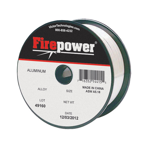 """Firepower MIG Welding Wire Premium AWS Class ER 5356 Aluminum, .030"""", 1 lb."""