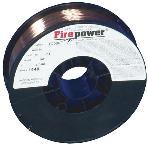 "Firepower MIG Welding Wire Premium AWS Class ER 70S-6 Solid, .030"", 11 lbs."