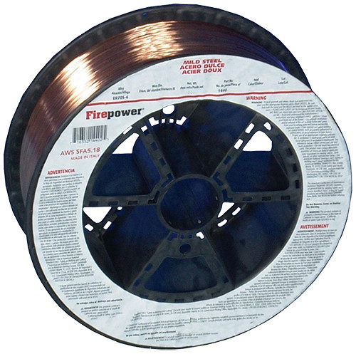 "Firepower MIG Welding Wire Premium AWS Class ER 70S-6 Solid, .035"", 33 lbs."