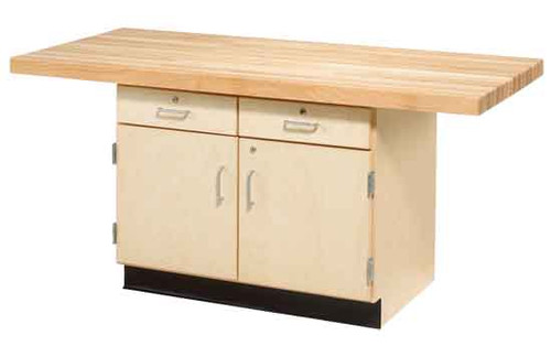 Diversified Woodcrafts 2-Station Work Bench