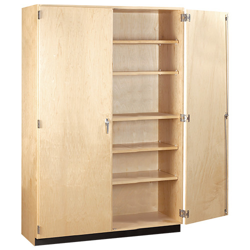 "Diversified Woodcrafts General Storage Cabinet, 60""W x 22""D x 84""H"