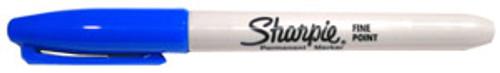 Sharpie Permanent Marker Fine Point Blue
