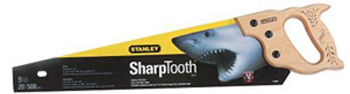 "Stanley SharpTooth Heavy-duty Handsaws, 26"""