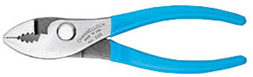 Channellock Slip Joint Pliers w/Wire Cutting Shear, 6""
